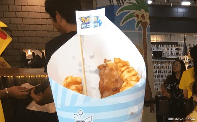 Alola Region's Fish 'n Fries