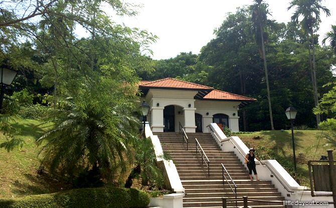 Fort Canning Park's Raffles House