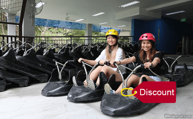 Skyline Luge Sentosa: Discounted Ticket ($18.90, U.P. $24)