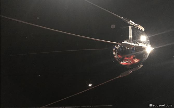 Replica of Sputnik