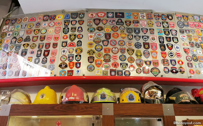Collection at the Fire Station Museum