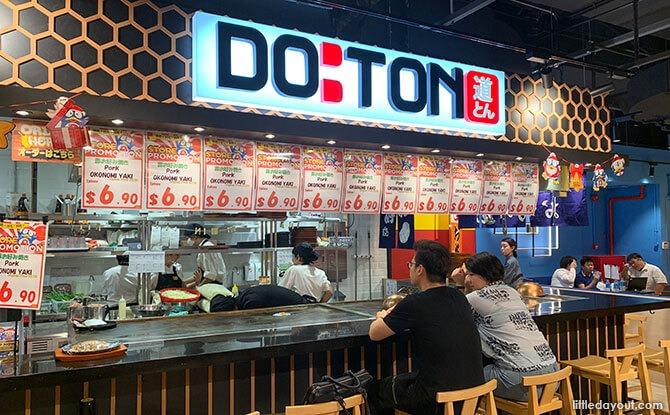 Doton specialises in Okonomiyaki