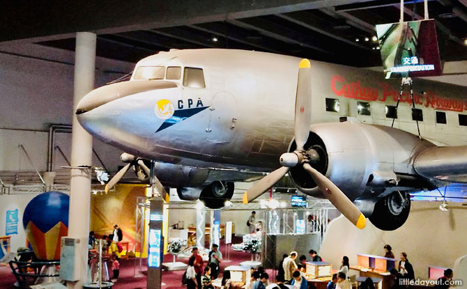 Transportation / Food Science / Telecommunications Gallery (2/F), Hong Kong Science Museum with Kids