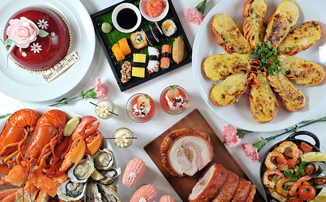Singapore Marriott Tang Plaza Hotel - Mother's Day Buffet and Dining in Singapore 2019