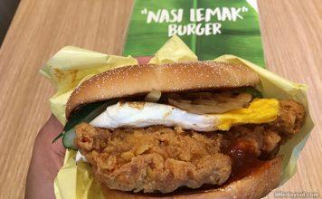 Taste Test: McDonald's Nasi Lemak Burger And Banana Pie 2019