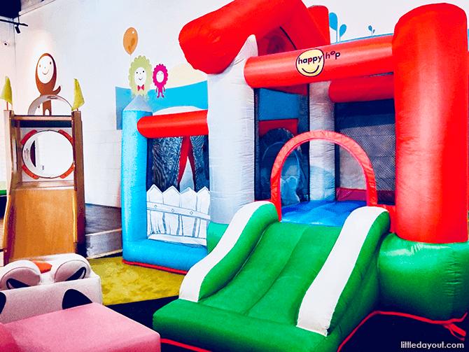 Bouncy castle at The Petite Park