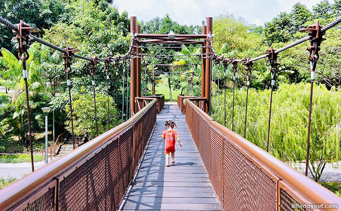 Adventure Bridge, Punggol Waterway Park
