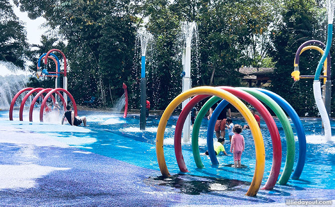 Water Play Zone at Rainforest KidzWorld