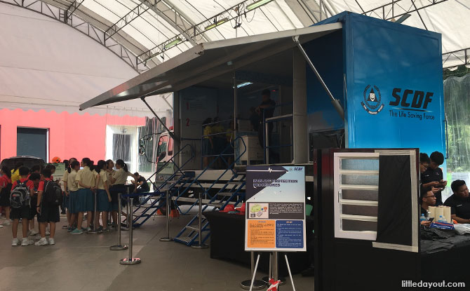 Singapore Civil Defence Force Showcase at S'pore Discovery Centre