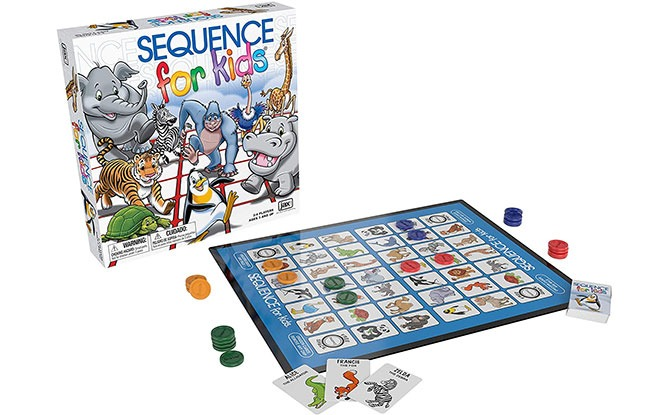 Sequence for Kids - Board Games for Preschoolers
