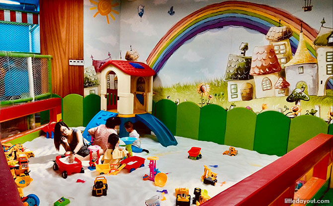Sensory Play at Sunshine Childhood Indoor Playground in Yishun