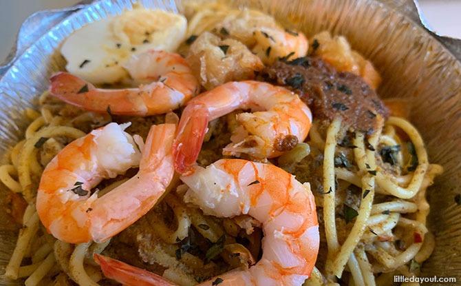 Shrimp Laksa Pasta