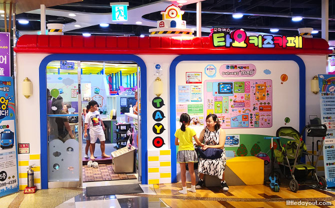 Tayo Kids Café in Seoul, South Korea