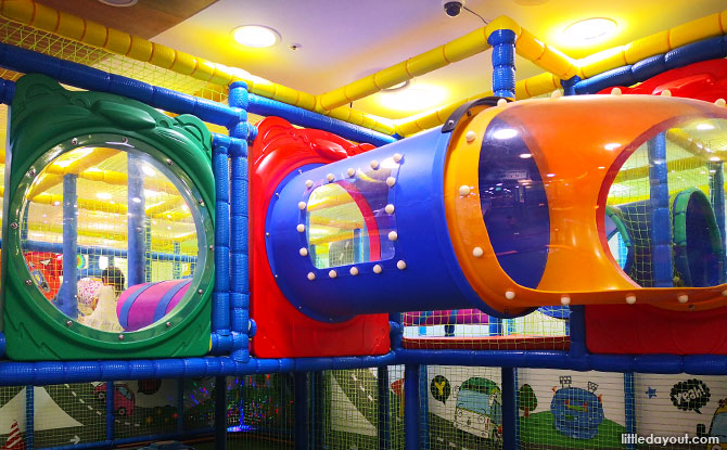 Indoor playground in Korea