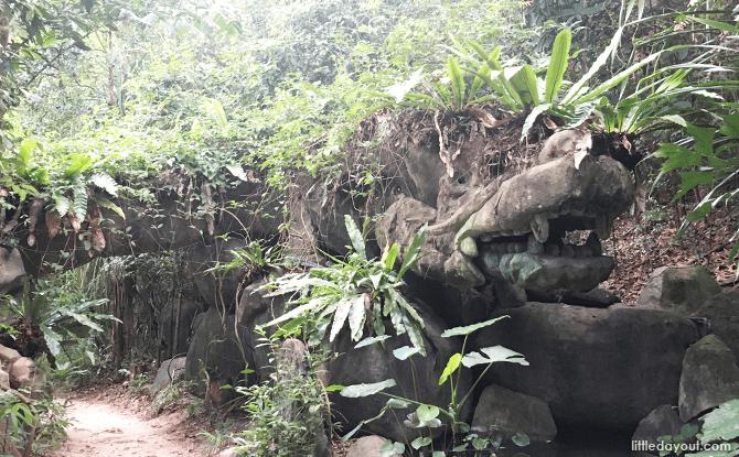 Rock Dragon, Imbiah Trail, Sentosa