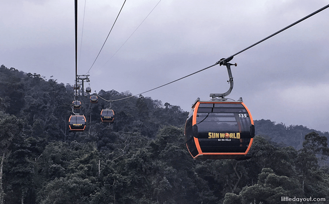 Cable Car Ride to Ba Na Hills, Vietnam