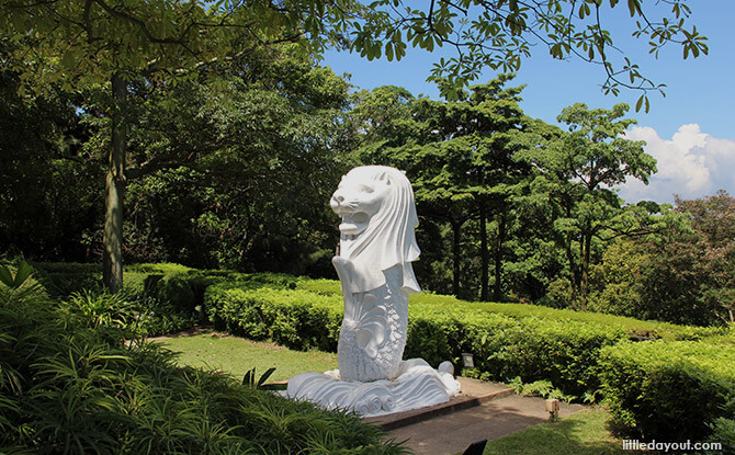 Mount Faber Park's Baby Merlion