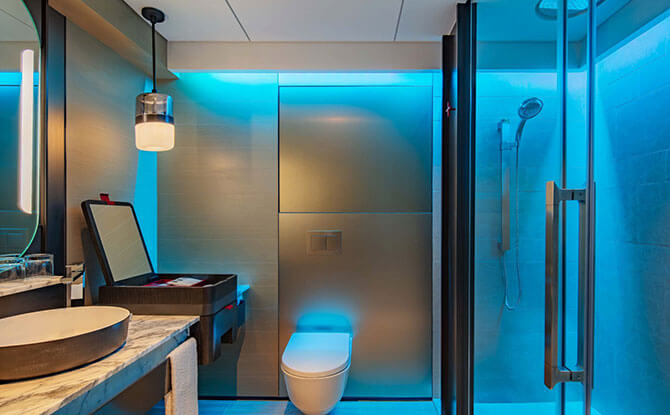 Experience Shower - a multisensorial experience for the ultimate relaxation.