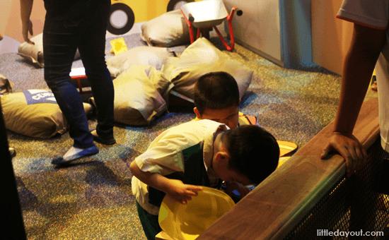 Built Zone at KidsSTOP Singapore