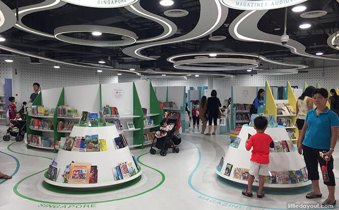 Bukit Panjang Public Library Children's Zone