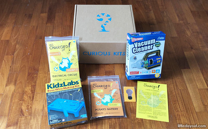 Curious Kits Unboxed - Subscription Box in Singapore