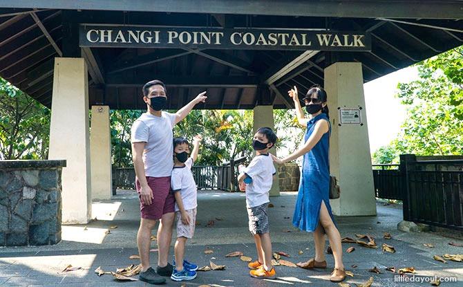 Changi Point Coastal Walk Entrance from Changi Point Ferry Terminal
