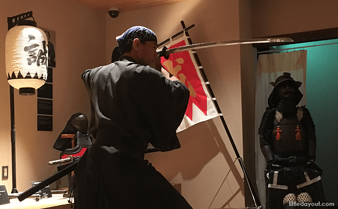 Samurai Demonstration