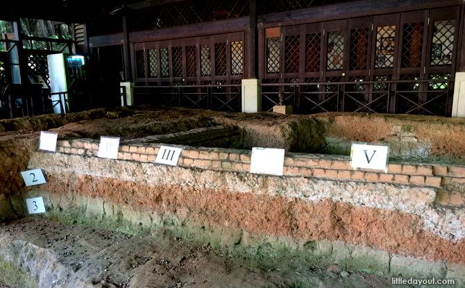 Archeological Dig at Fort Canning Park