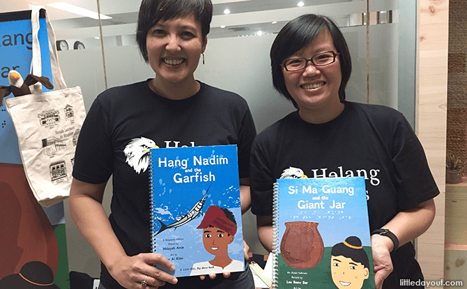 Hidayah Amin and Lee Seow Ser from Helang Books
