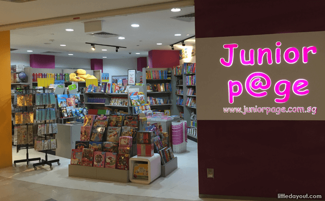 Junior Page, a Children's Bookstore at ARC