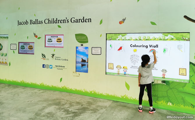 Touchscreens at the entrance