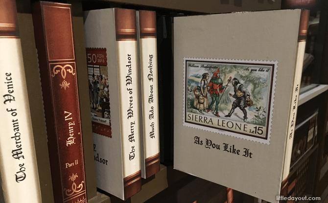 Shaking It With Shakespeare Philatelic Museum Literary Works