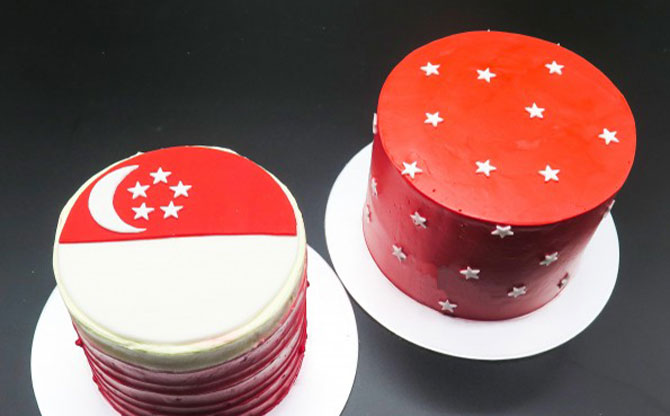 The Frosted Chick's National Day-themed Desserts