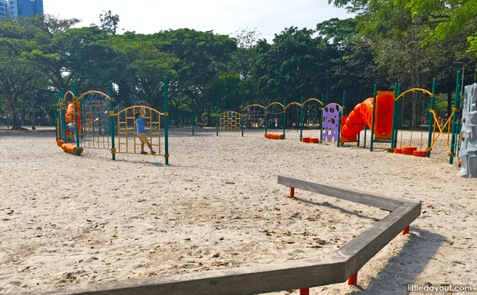 Obstacle Course, West Coast Park Adventure Playground