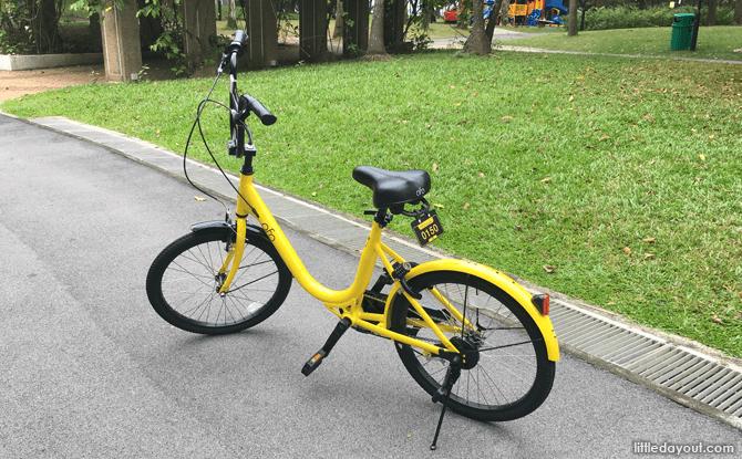 Ofo Bicycle, Bike Sharing in Singapore