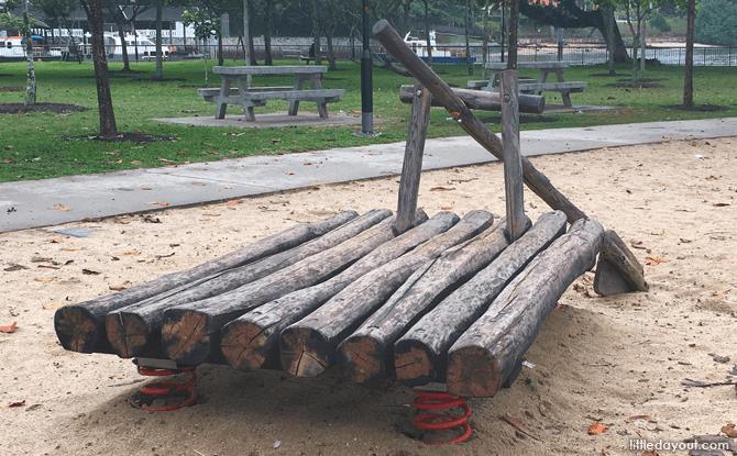 Raft at Sea-themed Playground, Changi Beach Park