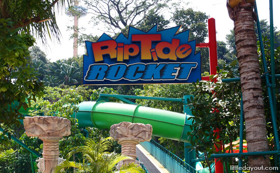 Riptide Rocket - Awesome Ride at Adventure Cove Waterpark, RWS, Singapore