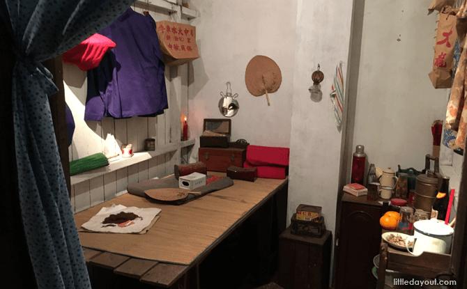 Samsui Woman Room - Chinatown Heritage Centre Singapore