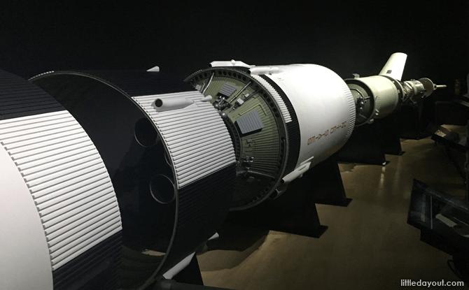 Saturn V Model