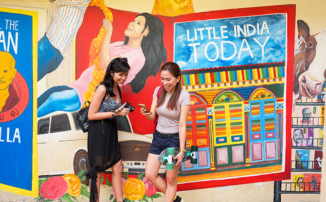 ArtWALK in Little India
