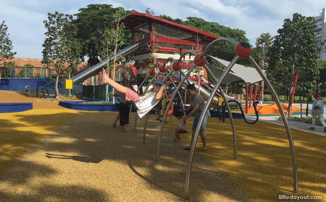 Swings at Marine Cove Playground