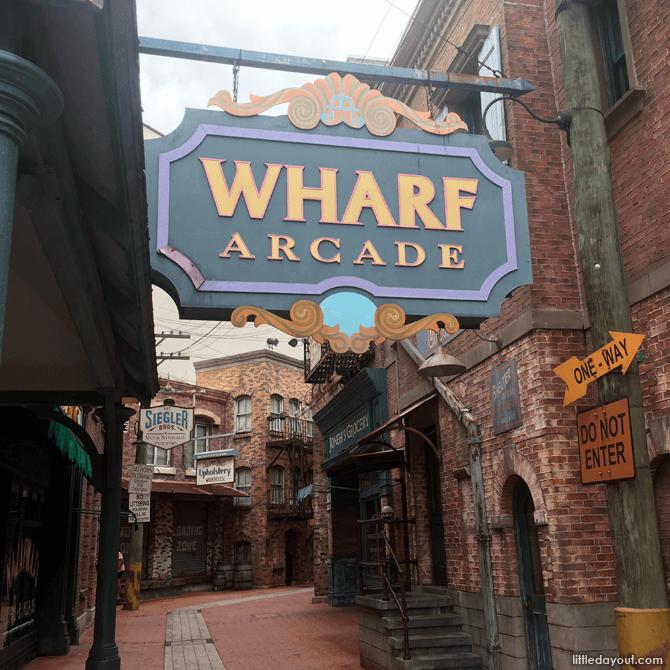 Wharf Arcade, Universal Studios Singapore