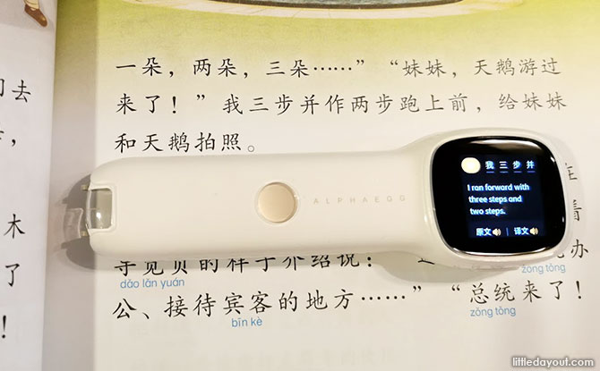 Alpha Egg Chinese Translation Pen
