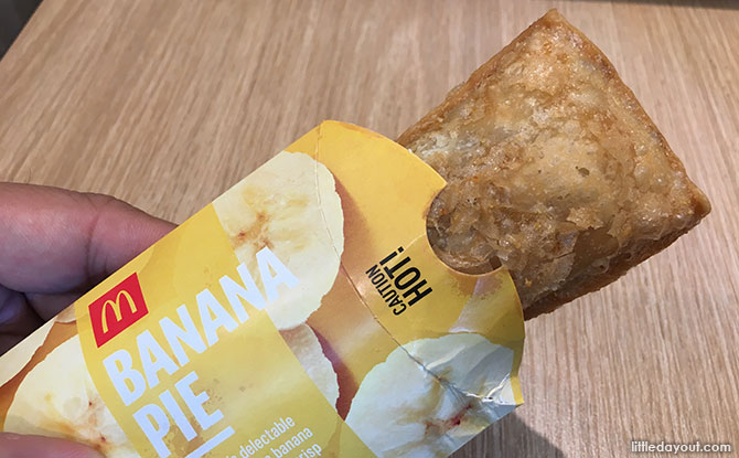 McDonald's Banana Pie 2019