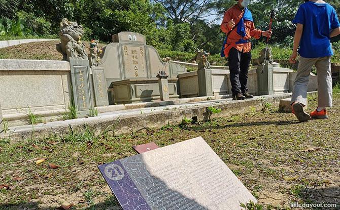 Grave of Tan Ean Kiam