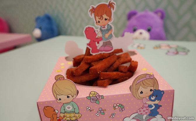 Chicken Spam Fries