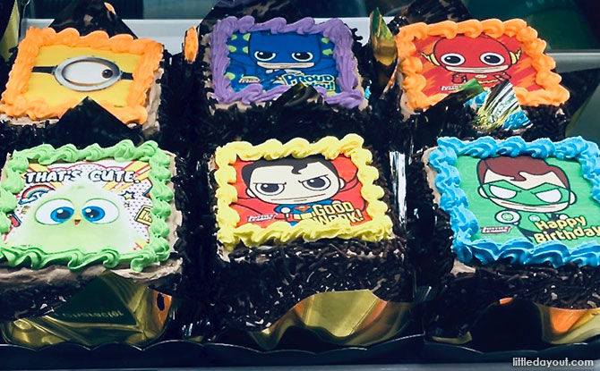 Character Cakes in Singapore at Polar