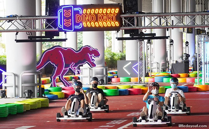 Dino-Kart at Changi Airport