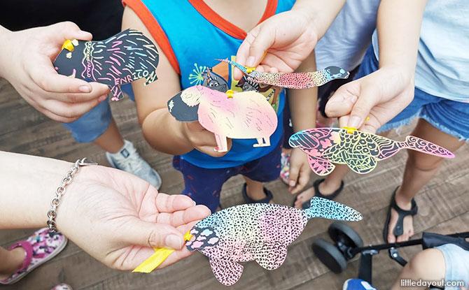 Doodle Scratch Art & Craft (River Safari)