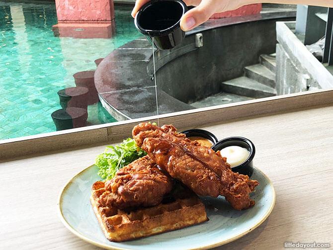 Har Cheong Gai Waffles